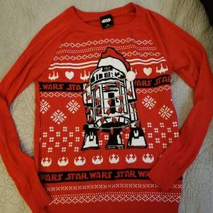 Star Wars R2D2 Christmas sweater